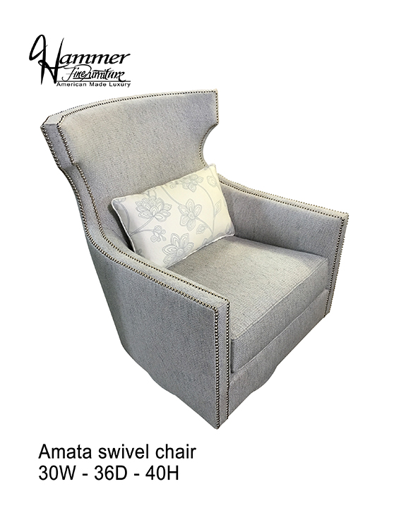 Amata Swivel Chair