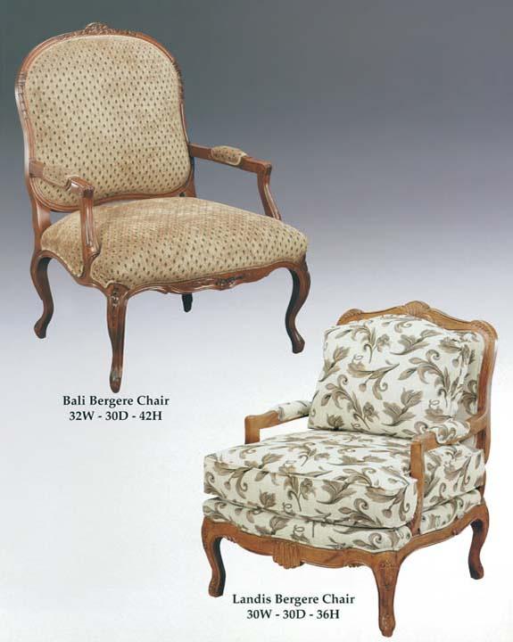 Bali & Landis Bergere Chairs