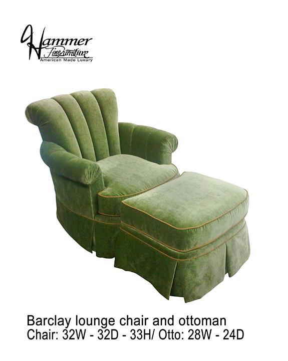 Barclay Lounge Chair & Ottoman