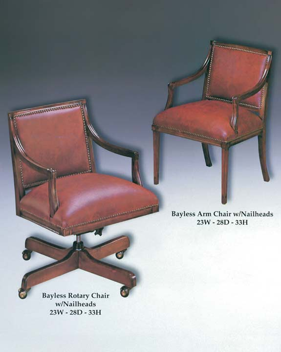 Bayless Arm & Rotary Chairs