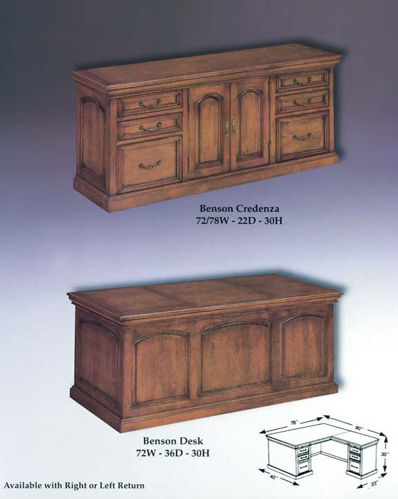 Benson Credenza & Desk