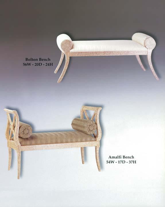 Bolton & Amalfi Bench