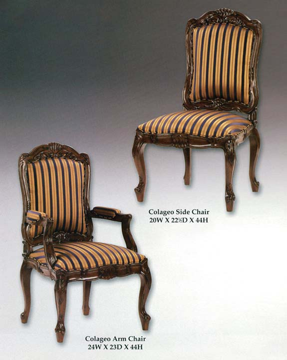 Colageo Arm & Side Chairs