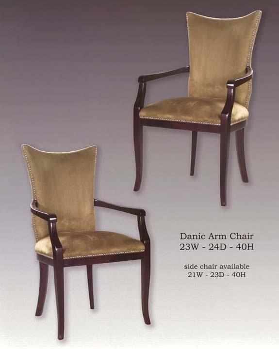 Danic Arm Side Chairs