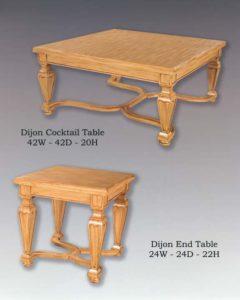 Dijon Table Collection