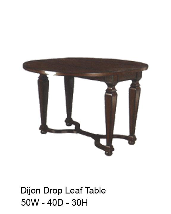 Dijon Drop Leaf Table