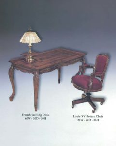 French Writing Desk