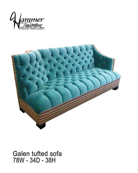 Galen Tufted Sofa