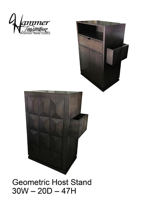 Geometric Host Stand