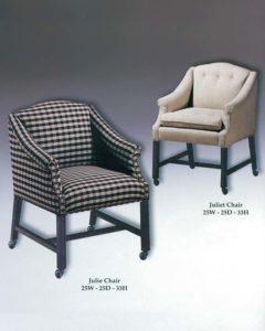 Julie & Juliet Chairs