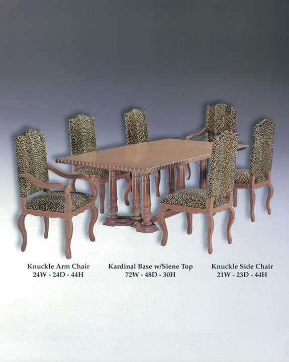 Kardinal Table Base & Siene Top