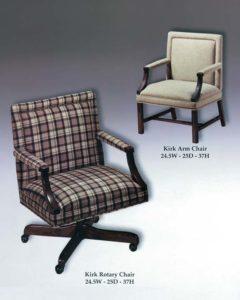 Kirk Arm & Rotary Chairs