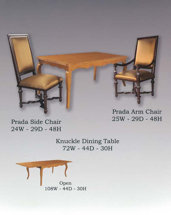 Knuckle Dining Table