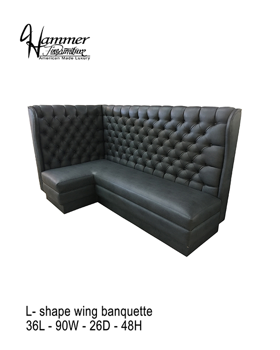 L-Shaped Banquette