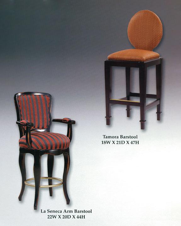 La Seneca Arm & Tamora Barstools