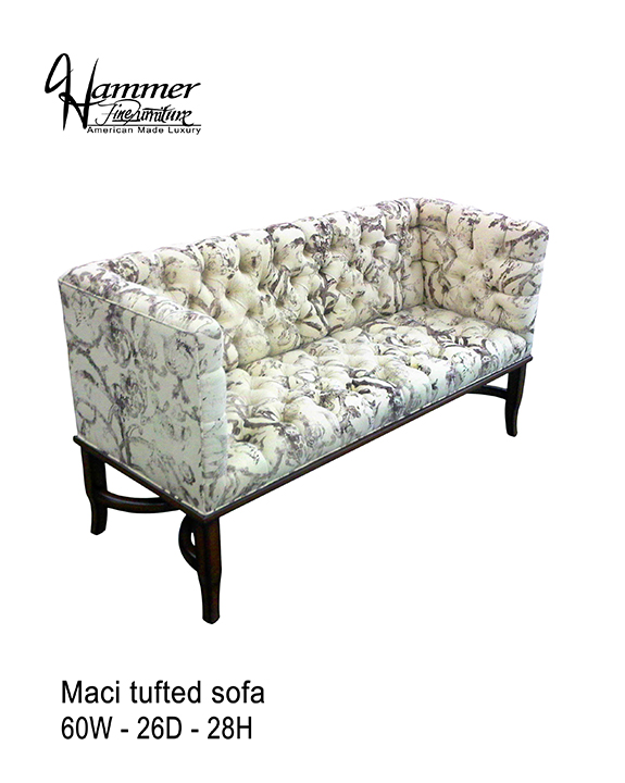Maci Tufted Sofa