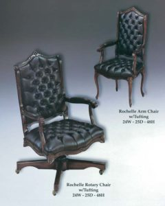 Rochelle Arm & Rotary Chairs