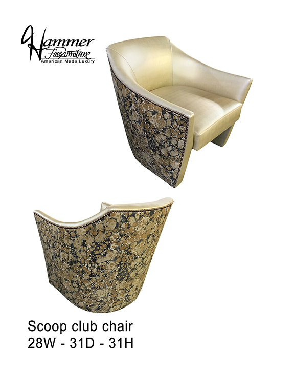 Scoop Club Chair