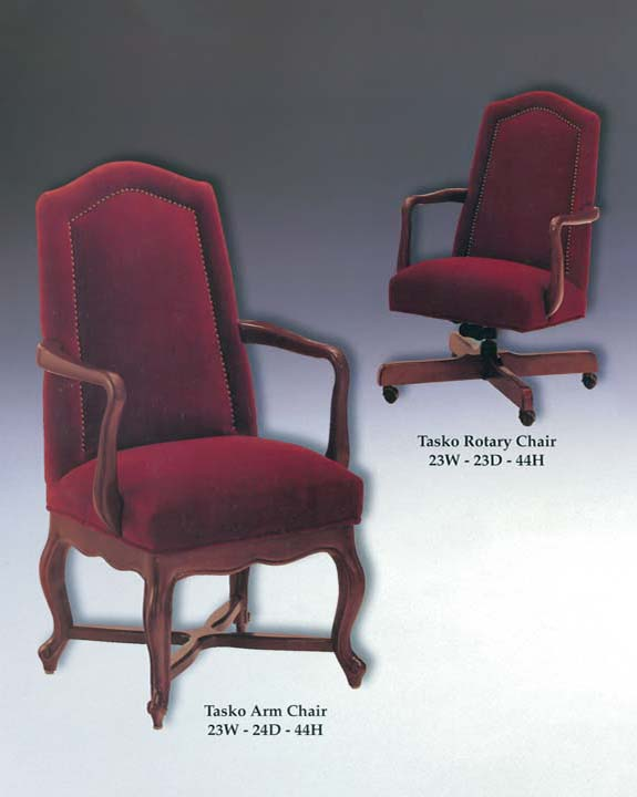 Tasko Arm & Rotary Chairs