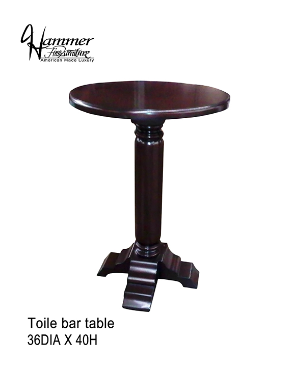 Toile Bar Table