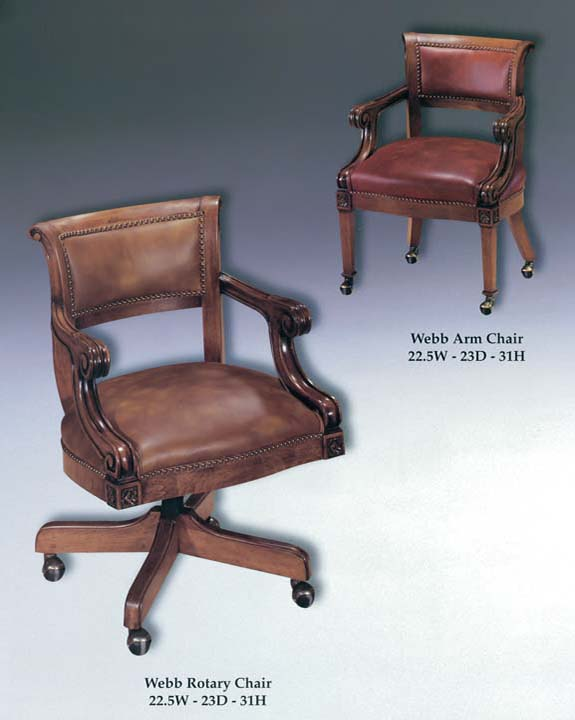 Webb Arm & Rotary Chairs