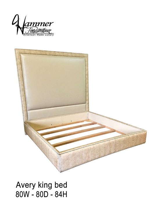 Avery King Bed