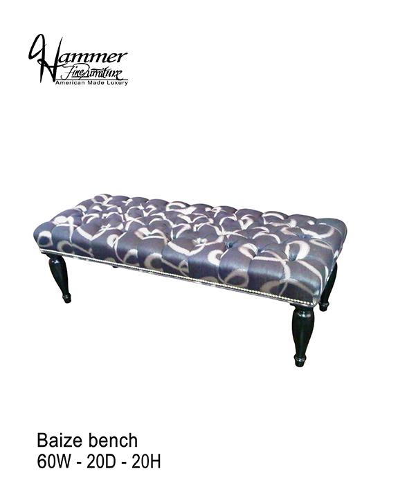 Baize Bench