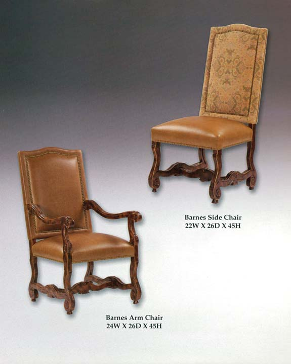 Barnes Arm & Side Chairs