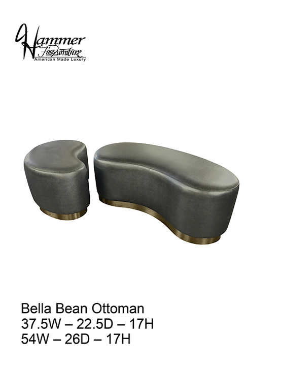 Bella Bean Ottoman