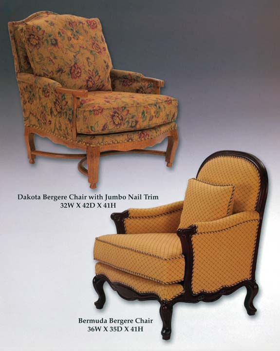 Bermuda & Dakota Bergere Chairs
