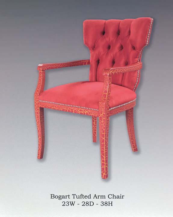 Bogart Tufted Arm Chair
