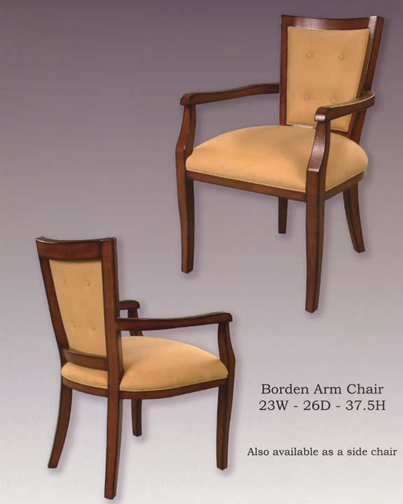 Borden Arm & Side Chairs