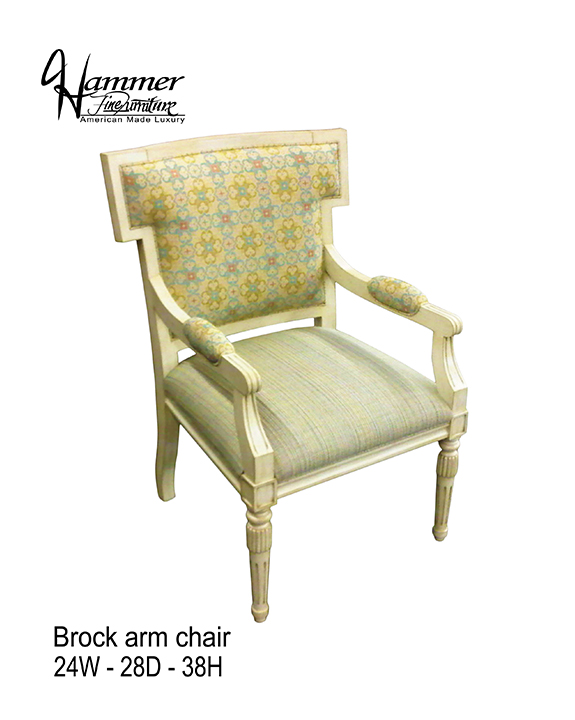 Brock Arm Chair