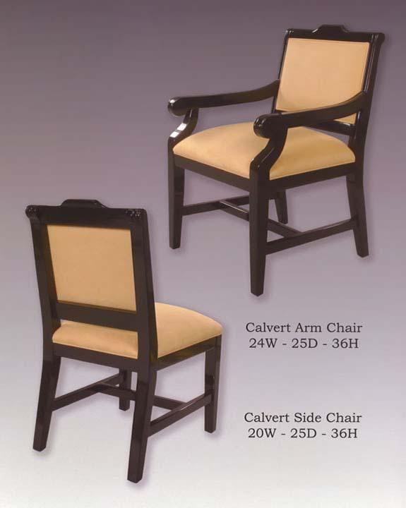 Calvert Arm & Side Chairs