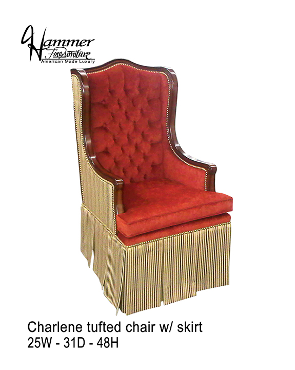 Charlene Tufted Chair