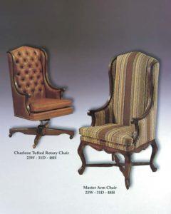 Charlene Rotary Chair & Master Arm Chair