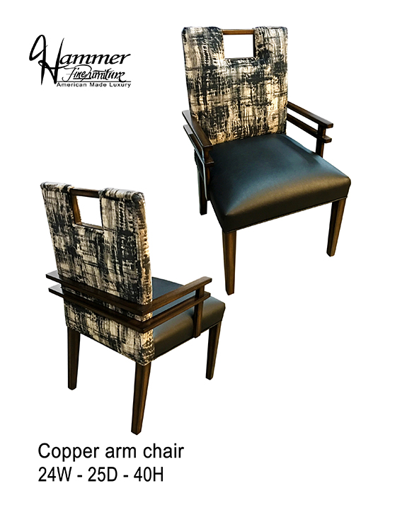 Copper Arm Chair