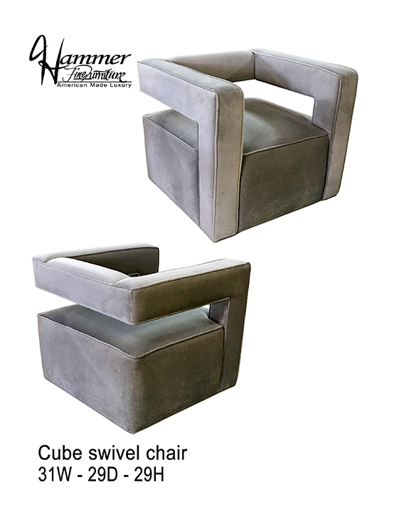 Cube Swivel Chair