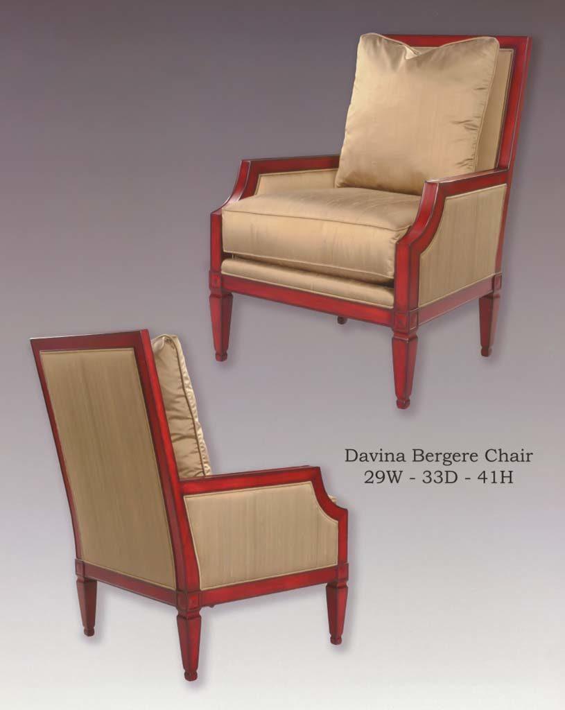 Davina Bergere Chair