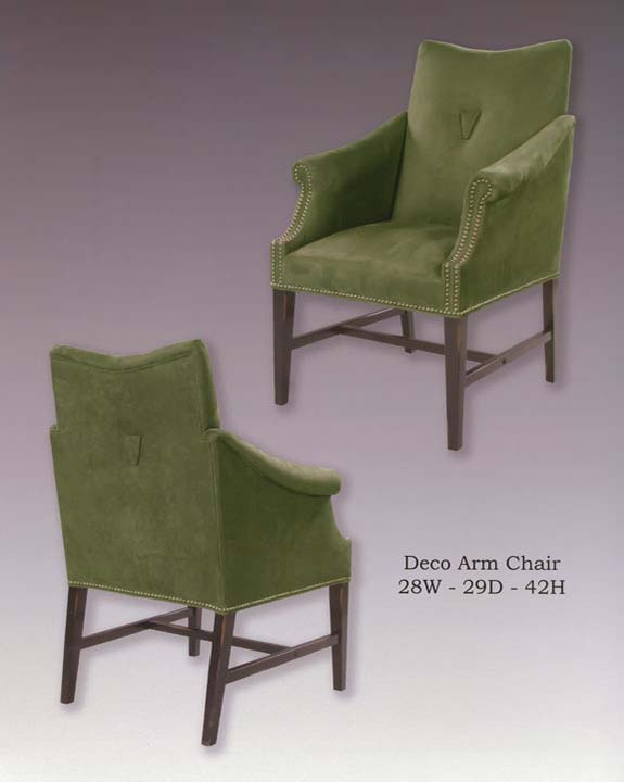 Deco Arm Chairs