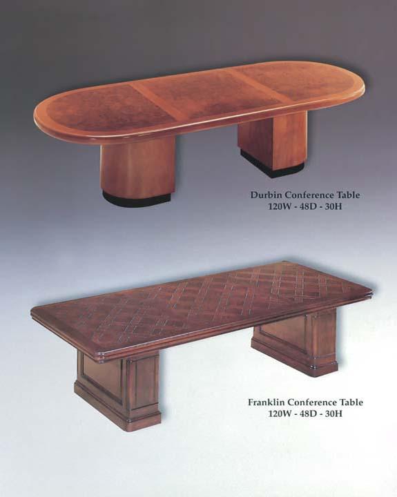 Durbin & Franklin Conference Tables