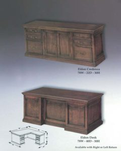 Eldon Credenza & Desk