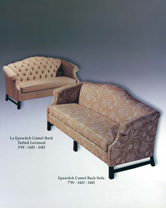 Epswitch Sofa & Tufted Loveseat