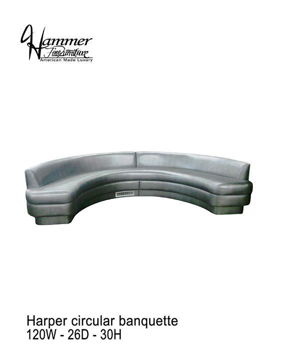 Harper Circular Banquette