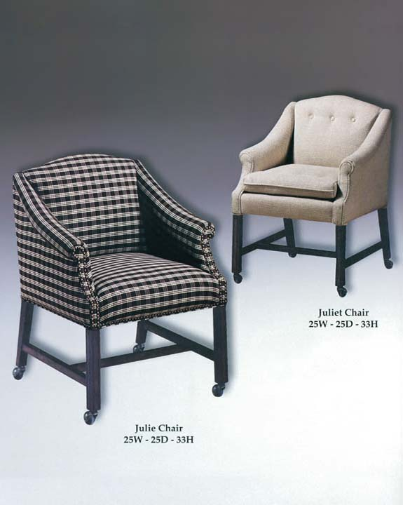 Julie & Juliet Chairs
