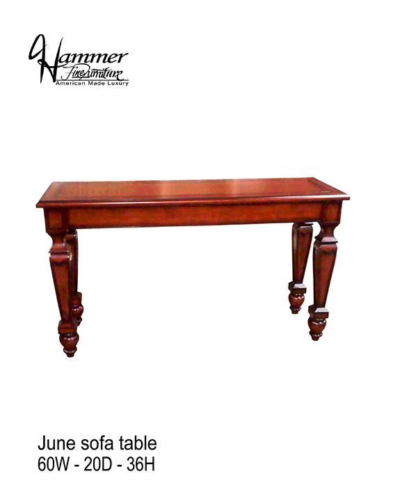 June Sofa Table