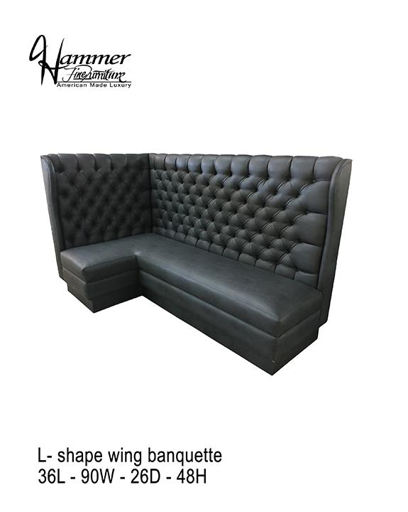 L-Shaped Banquette