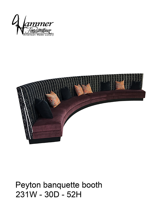 Peyton Banquette Booth