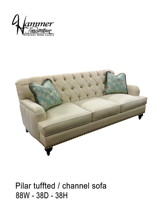 Pilar Tufted Sofa
