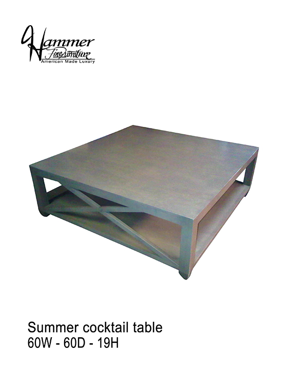 Summer Cocktail Table